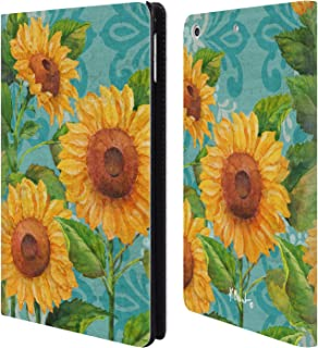 Official Paul Brent Sunflower Chic II Floral Leather Book Wallet Case Cover Compatible for iPad Mini 4