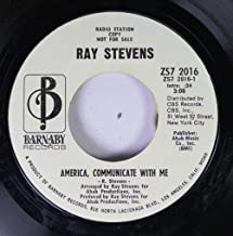 STEVENS, Ray / America, Communicate With Me / 45rpm record