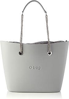 O bag Urban - Bolso para mujer, color gris claro, único