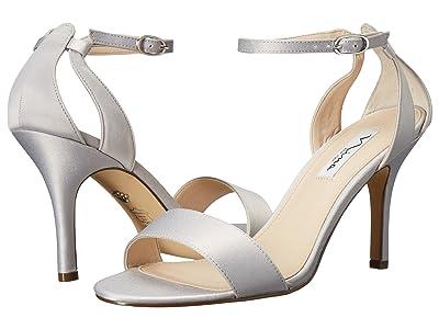Nina Venetia (Silver Luster Satin) High Heels