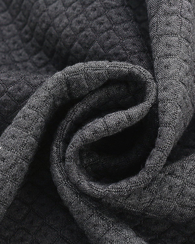 ZANZEA Damen Winterjacke Langarm Strickjacke Cardigan Kurz Mantel Jacke Outwear Anzug Blazer Oberteil Dunkelgrau