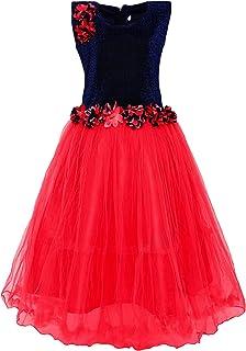 Kidling Girl's A-Line Maxi Dress