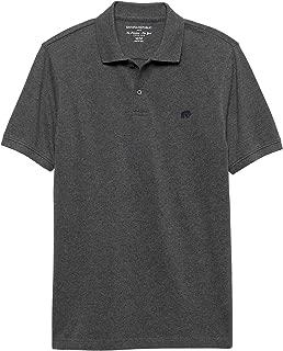 Banana Republic Factory Men's Classic Fit Polo Shirt Elephant Logo Short Sleeve
