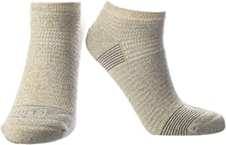 Doctor`s Choice Men`s Diabetic & Neuropathy Socks, No Show, Non-Binding with Aloe, Antimicrobial, Ventilation, and Seamles...