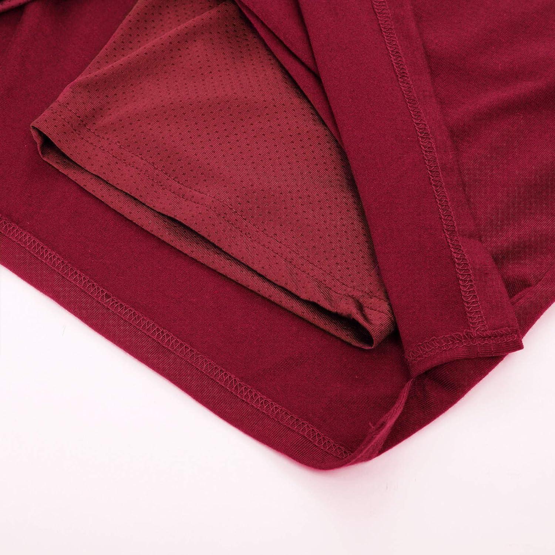 JACK SMITH Womens Stretchy Knee Length Skirt Athletic Skort Drawstring Waist with Pockets