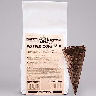 Carnival King Chocolate Waffle Cone Mix 5 lb. Bag