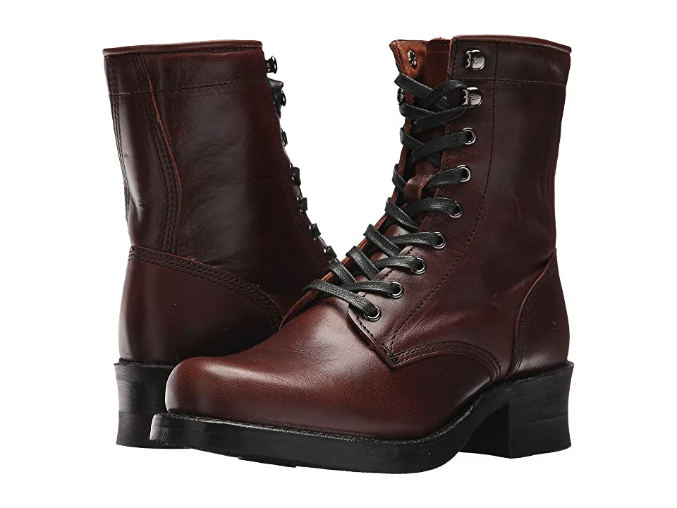 Frye Engineer Combat (Cognac) Women