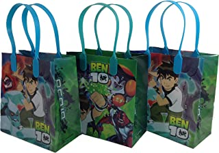 GOODIE BAGS PARTY FAVOR GIFT BIRTHDAY BAGS (free standard shipping for USA only!) (12x Ben 10)