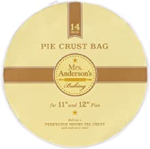 Mrs. Anderson's Baking Anderson's Easy No-Mess Pie Crust Maker Bag, 14-Inches, Clear