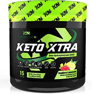 Keto Xtra Exogenous Ketones Supplement: Base BHB Salts Powder Drink Mix Perfect for Ketogenic Diet: Beta Hydroxybutyrate Formulated for Quick Ketosis, Energy, Fat Burn, and Focus: Lemon Lime