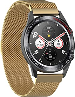 ieLive Smart Watch Band Wrist Band Watchband Milanese Stainless Steel Replacement Magnetic Strap Band for Huawei Watch GT/...