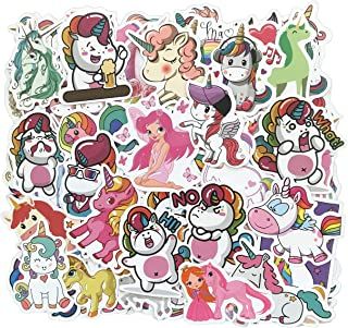 Cute Unicorn Stickers [100PCS] for Kids, Girls Birthday Gifts Party Supplies, Laptop Water Bottle Phone Bike Decals Stickers Pack