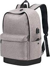 Travel Laptop Backpack,Business Water Resistant Anti-Theft College Middle School Computer Bag with USB Charging Port for M...