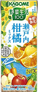 野菜生活100季節限定 瀬戸内柑橘ミックス195ml ×24本
