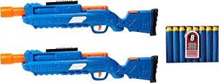 Buzz Bee Air Warriors Covert Squad World's First Walkie Talkie Nerf Gun, Multi-Colour, 62862, 2 Pack