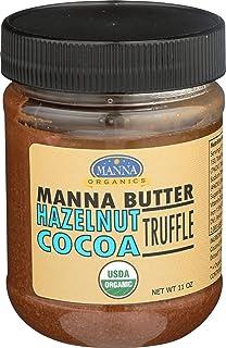 Manna Organics Manna Butter Hazelnut Cocoa Truffle, 11 ounce