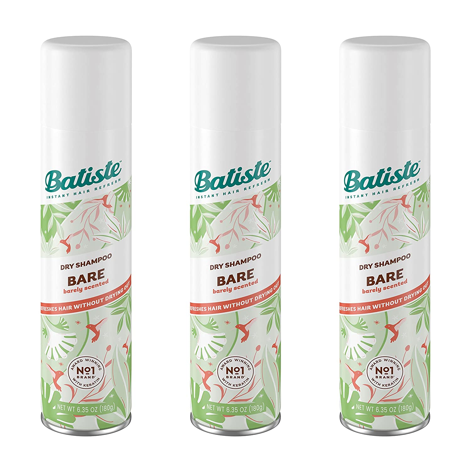 Batiste Dry Shampoo 10.10 Ounce 3 of Bare half New sales Pack