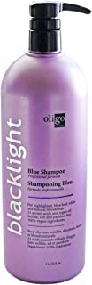 Oligo Blacklight Blue Shampoo For Blonde Hair - 32oz Professional Size-Stronger