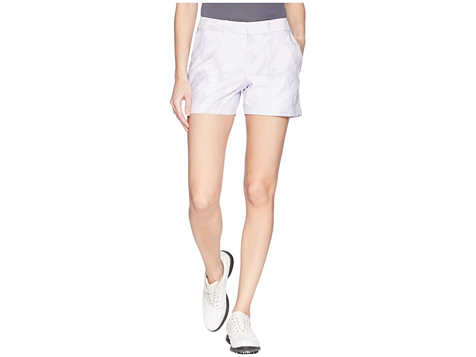 Nike Golf Woven 4.5 Sub Print Flex Shorts (Barely Grape/Purple Slate/Barely Grape) Women