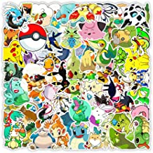 CHUDU Anime Pokemon Graffiti Adesivi Skateboard Telefono Bollitore Tablet Pc Adesivi decorativi Commercio all'ingrosso 100...