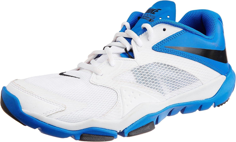 Nike Mens Flex Supreme TR 3 Running shoes-White Black Hyper Cobalt