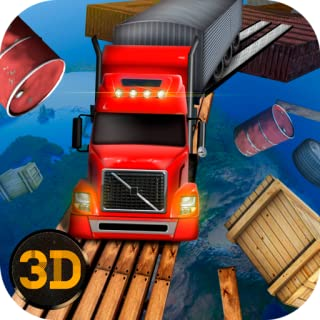 Impossible Truck Sky Racing