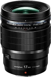 Olympus M Zuiko 17mm f1.2 PRO Lens, Black (Renewed)