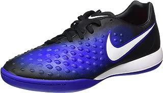 Magistax Onda II IC Indoor Soccer Shoe (Sz.10.5) Black, Blue