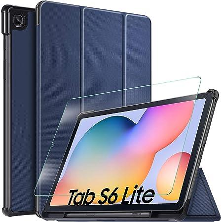 Ivso Hülle Für Samsung Galaxy Tab S6 Lite Panzerglas Elektronik