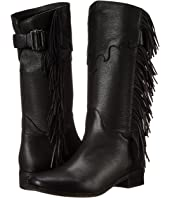 See by Chloe - Pebbled Leather Bootie with Fringe