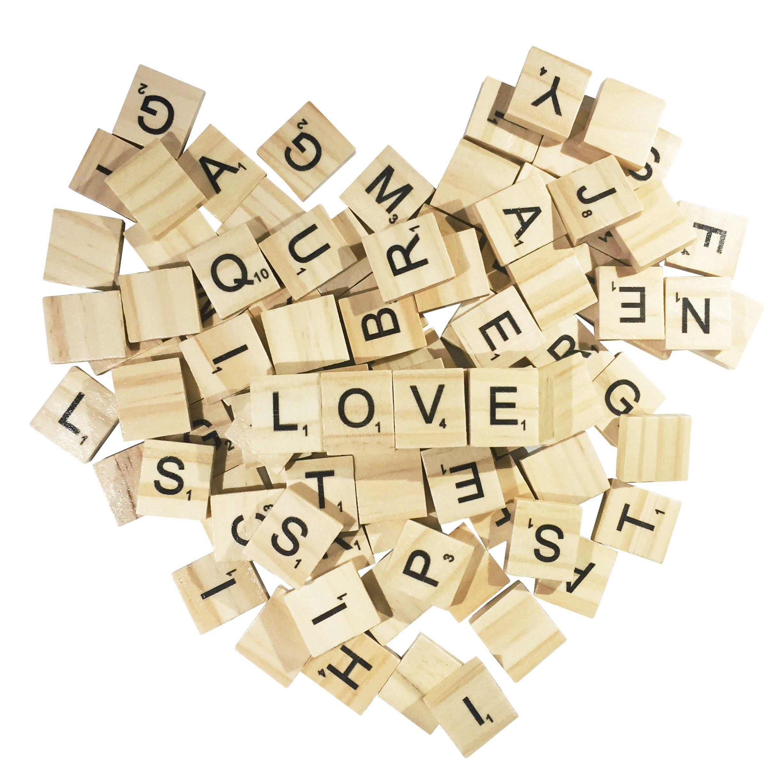 PERRIROCK 500 Piezas de Madera Scrabble Azulejos – Scrabble Letras – 5 Juegos completos – Azulejos de Madera – Ideal para Manualidades, Letras Azulejos, ortografía por Clever Delights: Amazon.es: Juguetes y juegos
