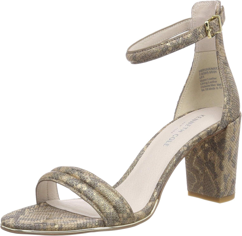 Kenneth Cole New York Womens Lex Block Heeled Sandal Heeled Sandal