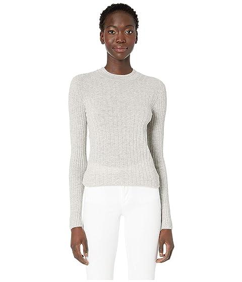 Vince Mixed Rib Long Sleeve Sweater