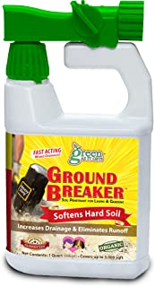 Green As It Gets Ground Breaker Soil Penetrant (Quart RTS - Covers 3,000sqft) (Ready-To-Spray Concentrate, Pack of 1)