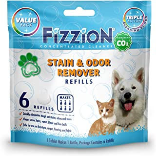 Fizzion Pet Stain and Odor Eliminator (6 Tablets, Original)