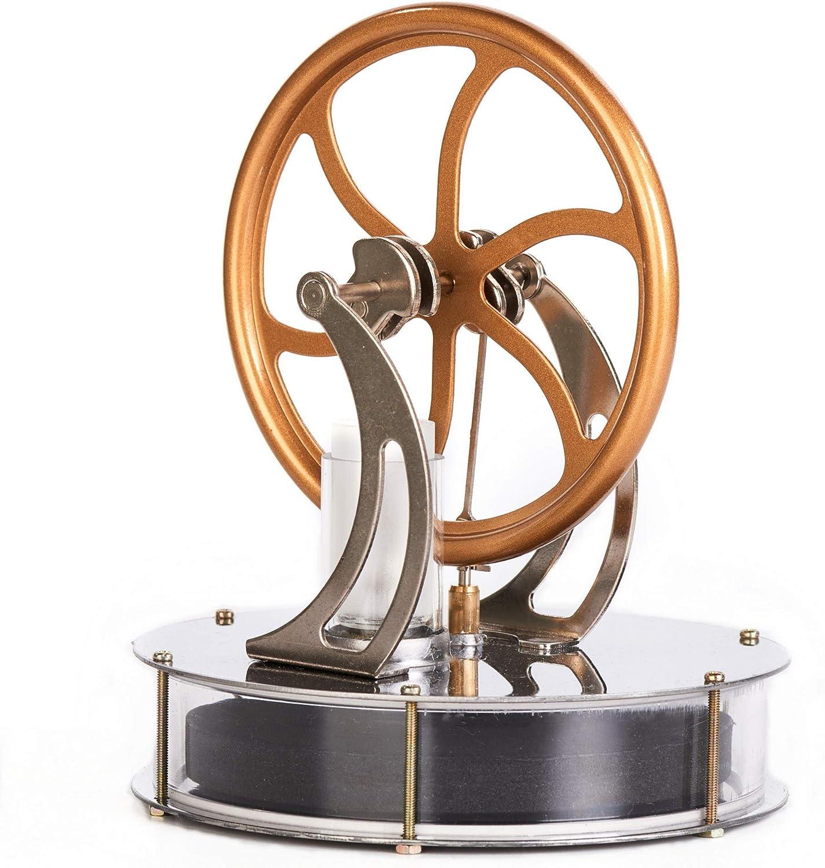 Stirlingtech Low Temperature Stirling Engine Motor Steam Heat Education Model Toy Kits Lt001