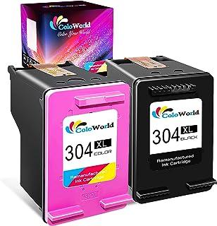 comprar comparacion ColoWorld 304XL Remanufacturado Cartuchos de Tinta 304 XL Negro y Tricolor Compatible con hp Envy 5010 5020 5030 DeskJet 2...