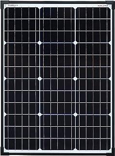 SolarV Módulo solar monocristalino Perc de enjoy solar®, 60 W, 12 V, ideal para caravanas, cobertizos de jardín, barcos