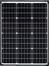 enjoysolar® Monokristallines Solarmodul Solarmodul con PERC Zellentechnik negro., 60W