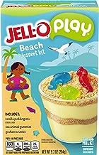 JELL-O Play Beach Dessert Kit, 9.3 oz Box (Pack of 6)