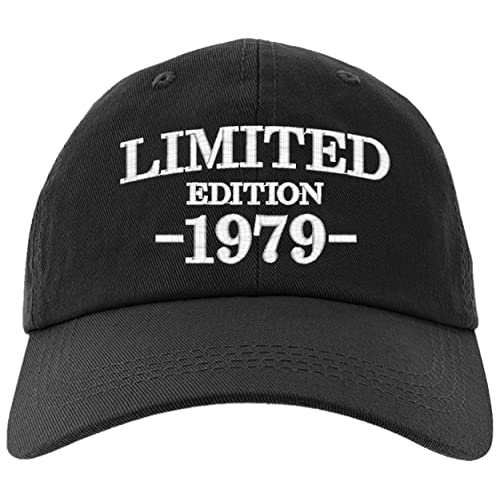 Cap 40th Birthday Gifts Limited Edition 1979 All Original Parts Baseball Hat