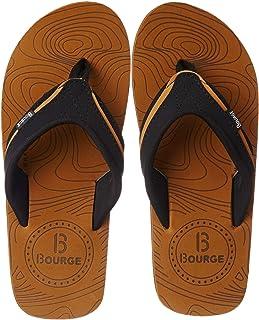 Bourge Men's Canton-Z1 Flip-Flops