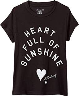 Billabong Kids Sunshine Heart Tee (Little Kids/Big Kids)