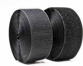 Eletorot Lot de 20 Serres-c/âbles Autoagrippantes R/églables R/éutilisables Sangle Velcro Pour Cable Management Noir Attache Cable Scratch