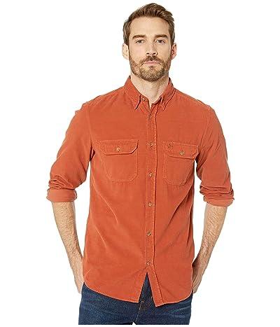 Fjallraven Ovik Cord Shirt (Autumn Leaf) Men