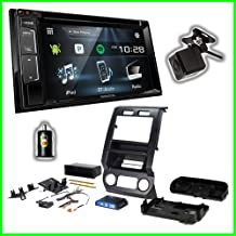 PAC Integrated Dash Installation Kit with Kenwood Double DIN Radio & Backup Camera