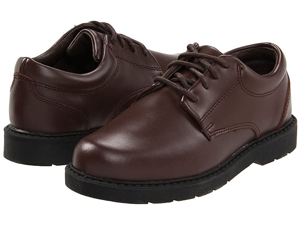 School Issue Scholar (Toddler/Little Kid/Big Kid) (Brown Leather) Boys Shoes