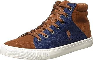 US Polo Association Men's Tan Boots-11 UK/India (45 EU) (2531825519)