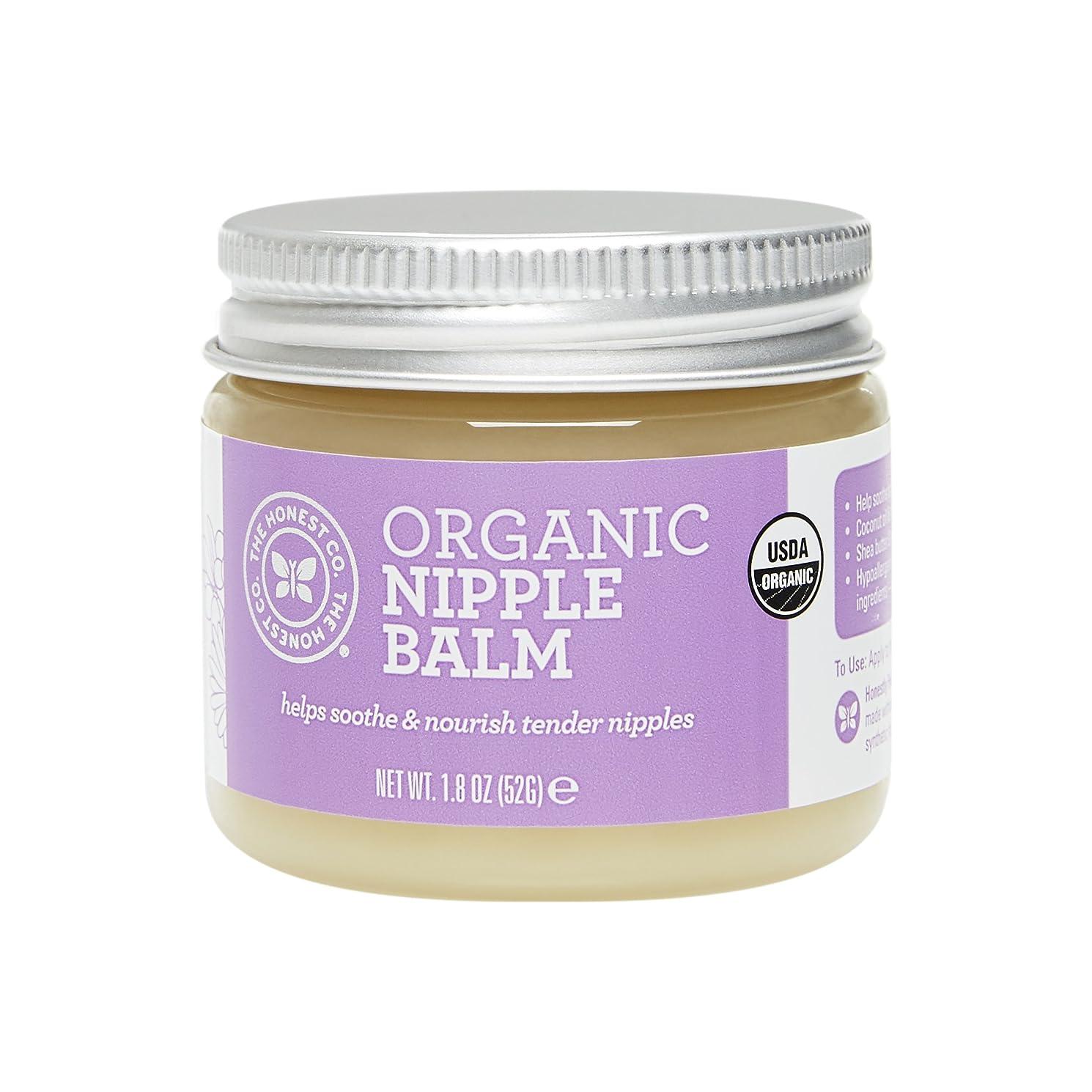原油エンゲージメントThe Honest Company Organic Nipple Balm 1.8 oz [並行輸入品]