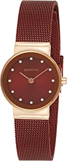 BERING Womens Analogue Quartz Watch with Stainless Steel Strap 10126-363
